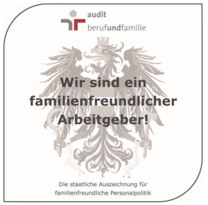 Zertifikat familienfreundliche Arbeitgeber