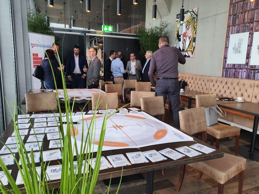 Bilder Digital Excellence Navigator Digital Transformation Workshop in Linz