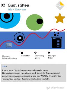 Leadership Performance Card Sinn stiften: Why - What - How